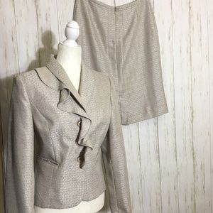 Giorgio Sant' Angelo 2-Piece Skirt Suit/Blazer Set